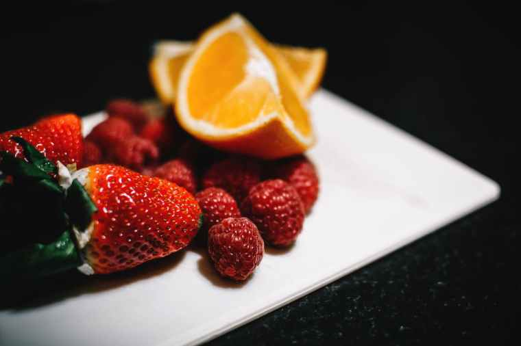 Fiber in fruits