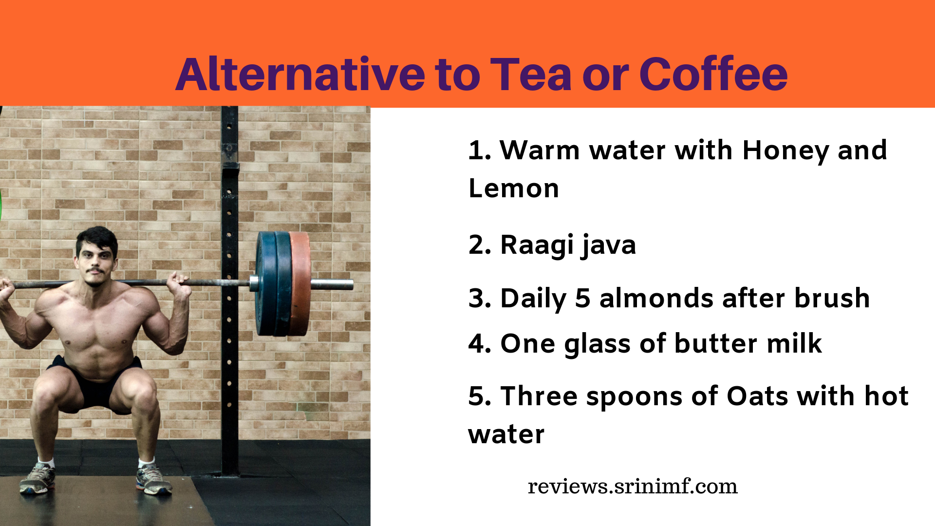 Alternative to Tea or Coffee